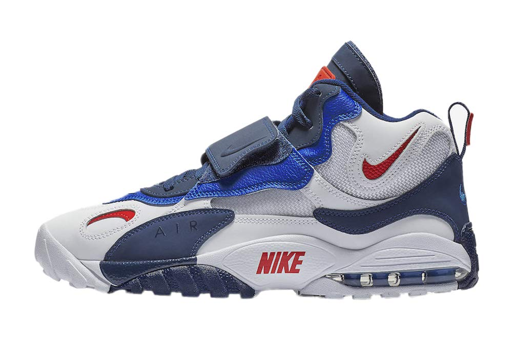 Nike Air Max Turf White/University Red-Blue Void (8 D(M) US)