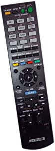 Replaced Remote Control Compatible for Sony STR-KS370 RMAAU073 HTC-T350HP HTSS370 HT-CT350HP Audio/Video AV Receiver Home Theater System