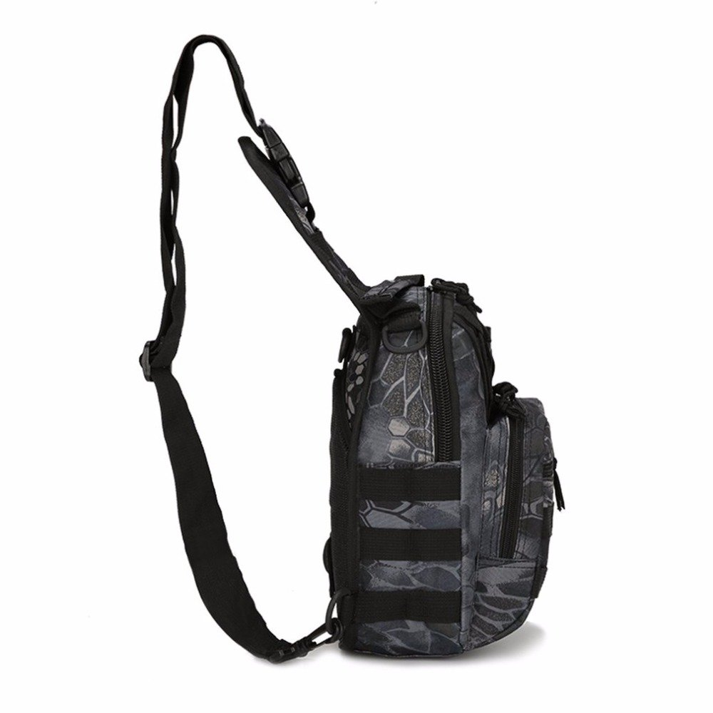 5L Outdoor Man Large Capacity Chest Pack Outdoor Sports Backpack