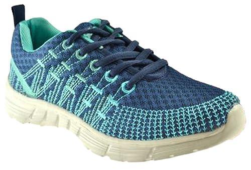 abf018ae47 AXA Scarpe Unisex Sneakers Tela Blu 78061A Blue: Amazon.it: Scarpe e borse