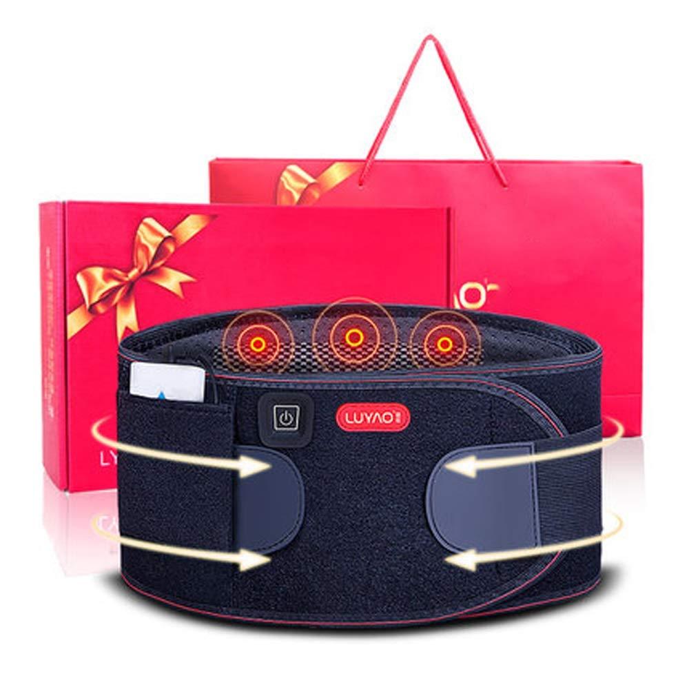 ファッションの 腰部の背中の痛みのウエストマッサージ器電気加熱の振動は、背中の痛みやストレスを和らげ B07JGSF1YR、腰椎椎間板ヘルニアを緩和します XL-125cm B07JGSF1YR XL-125cm, franc bonn:789d85da --- arianechie.dominiotemporario.com