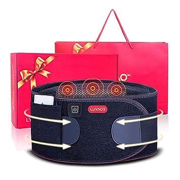 YWY Dolor en la Espalda Lumbar Cintura Masajeador Calefacción eléctrica La vibración de Carga Ayuda a