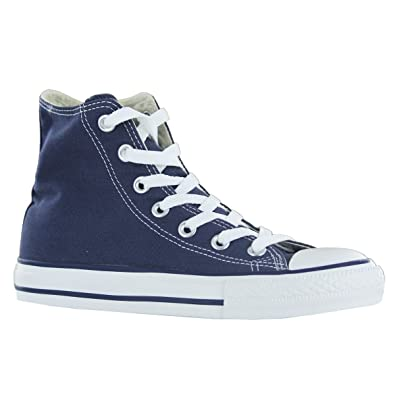 bf825f567aac Image Unavailable. Image not available for. Color  Converse CHUCK TAYLOR ALL  STAR Unisex Navy Canvas High Top Sneaker Shoes