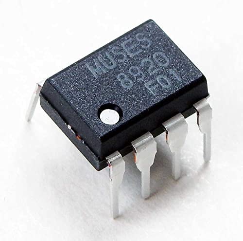 JRC MUSES8920 Audio J-FET Input Dual Operational Amplifier