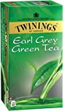 Twinings Green Tea and Earl Grey, 25 Tea Bags