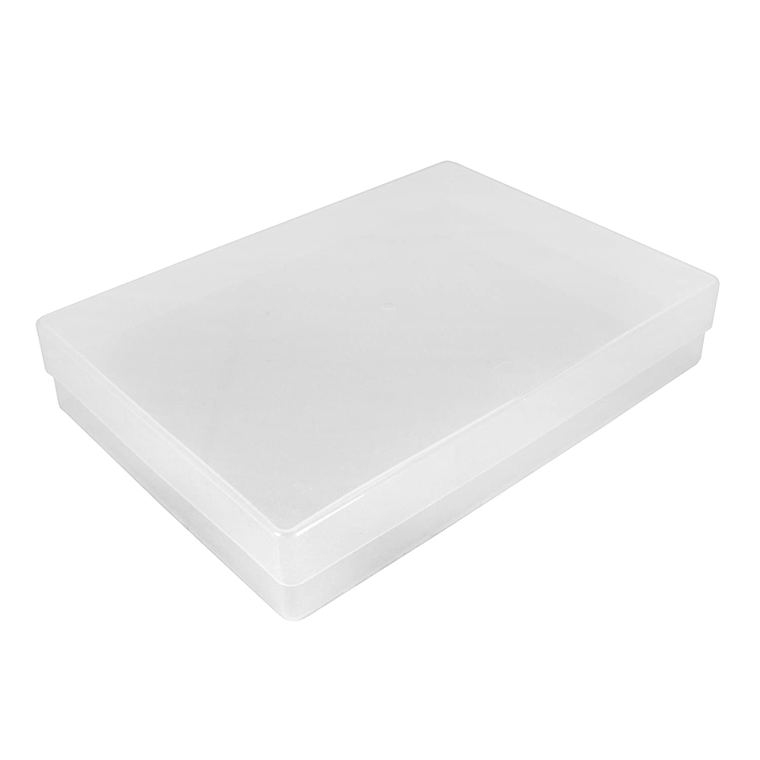 Westonboxes A4 Plastic Storage Boxes  Clear (Pack Of 5)