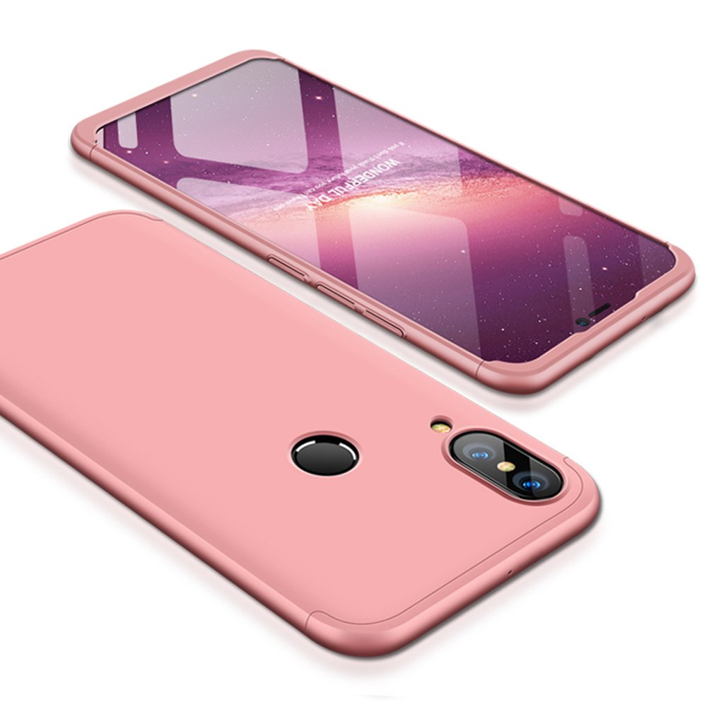 low cost 48f50 11f98 Huawei P20 Lite Case, Huawei Nova 3E Case, Ranyi [Full Body 3 in 1] [Slim &  Thin Fit Tightly] [360 Degree Protection] Premium Hybrid Bumper 3 in 1 ...