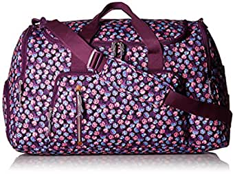 Vera Bradley Lighten Up Ultimate Gym Bag, Berry Burst