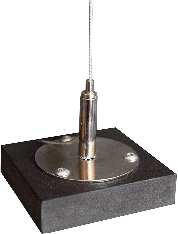 HEAVYTOOL Schl/üsselringe aus Drahtseil /Ø35mm 1,0mm x 120mm Edelstahl Gep/äckanh/änger Multifunktionale Schl/üsselringe mit Drehverschlu/ß 15 St/ück