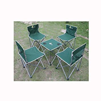 Nzbdfz- Asiento portátil: Ideal for picnics, jardín, Mesa y ...