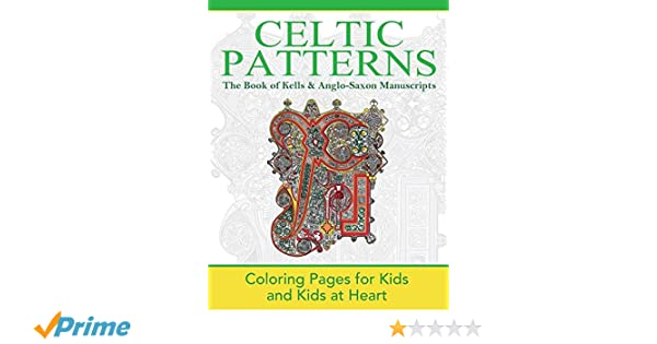 The Book of Kells & Anglo-Saxon Manuscripts: Coloring Pages ...