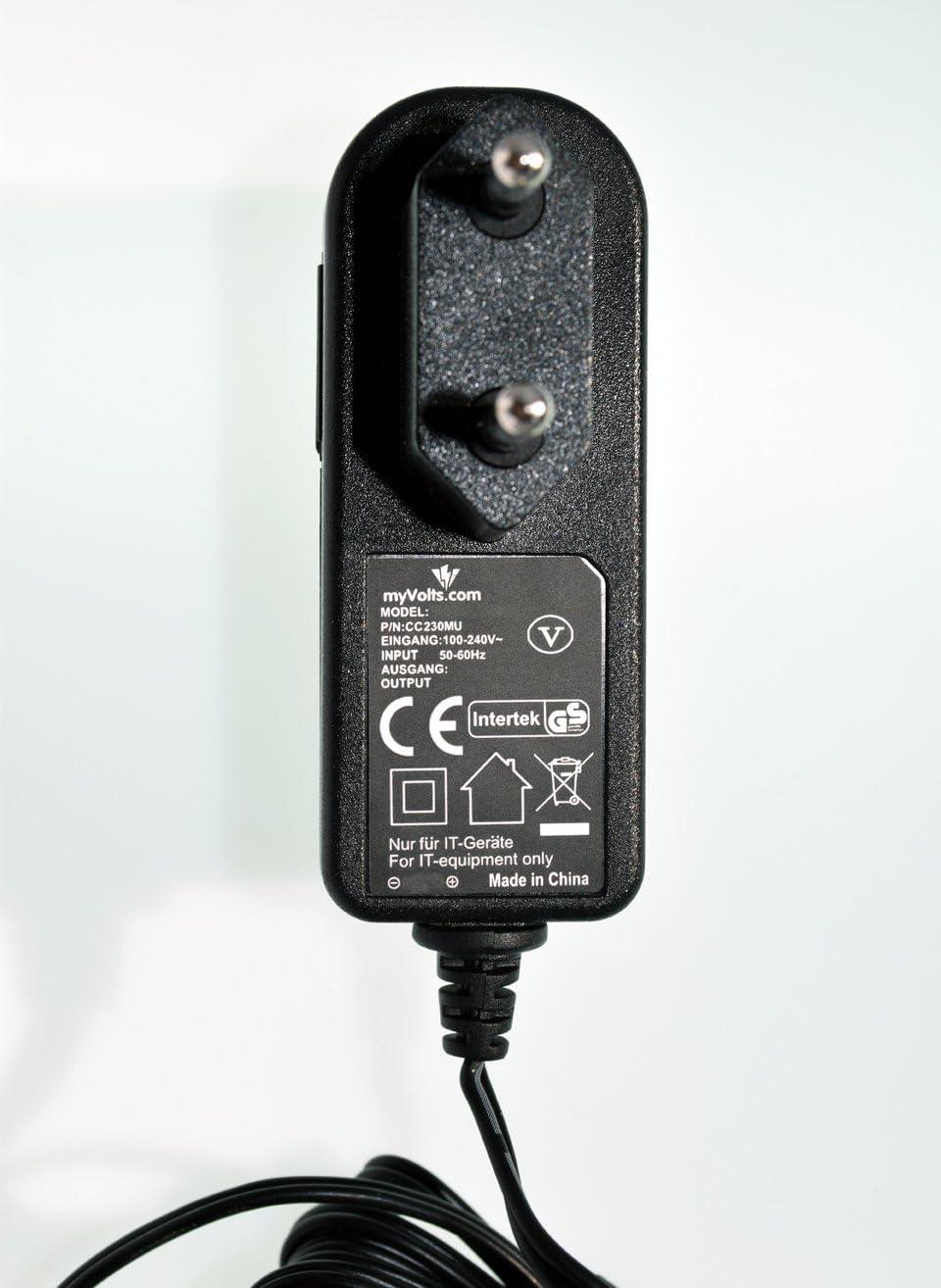 MyVolts 5V EU-Netzteil kompatibel mit Axis 206 IP-Kamera