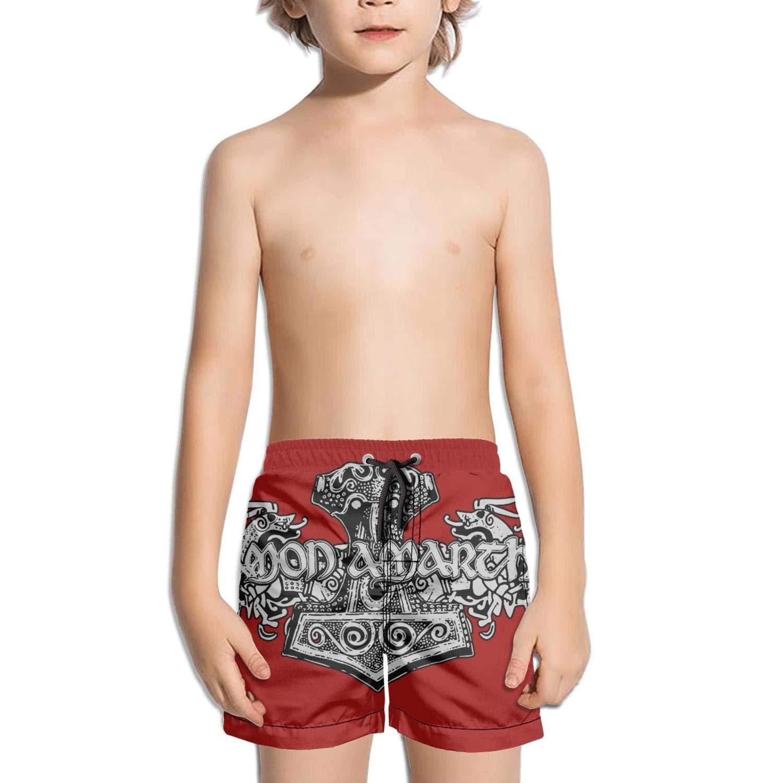 ughbhjnx Kids Vacation Quick Dry Core Swim Stretch Board Shorts