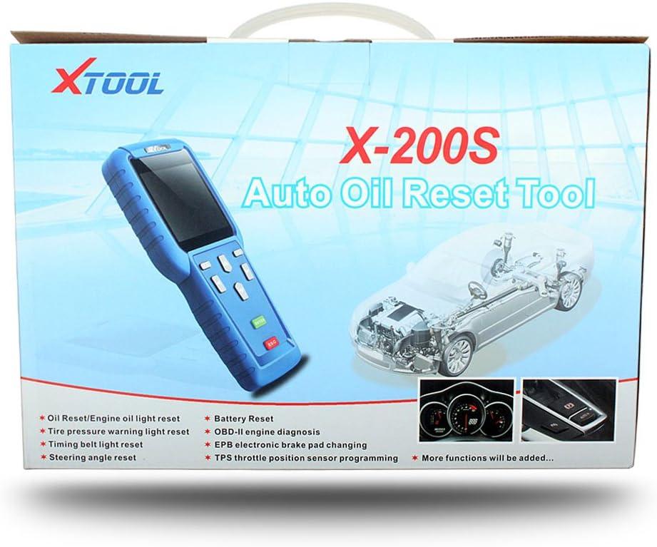 Xtool X200s OBD2 diagnóstico de coche herramienta de escaneo con ...