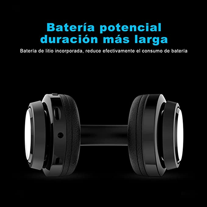 Auriculares Diadema Auriculares Bluetooth Inalámbricos, NickSea Auriculares Plegables con Función 4 en 1 Cascos Bluetooth con Sonido HD y Estéreo Larga ...