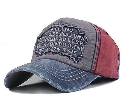 Sun Hat Gorra para Hombre, Estilo Vintage Desgastado, para Exteriores, para Senderismo,