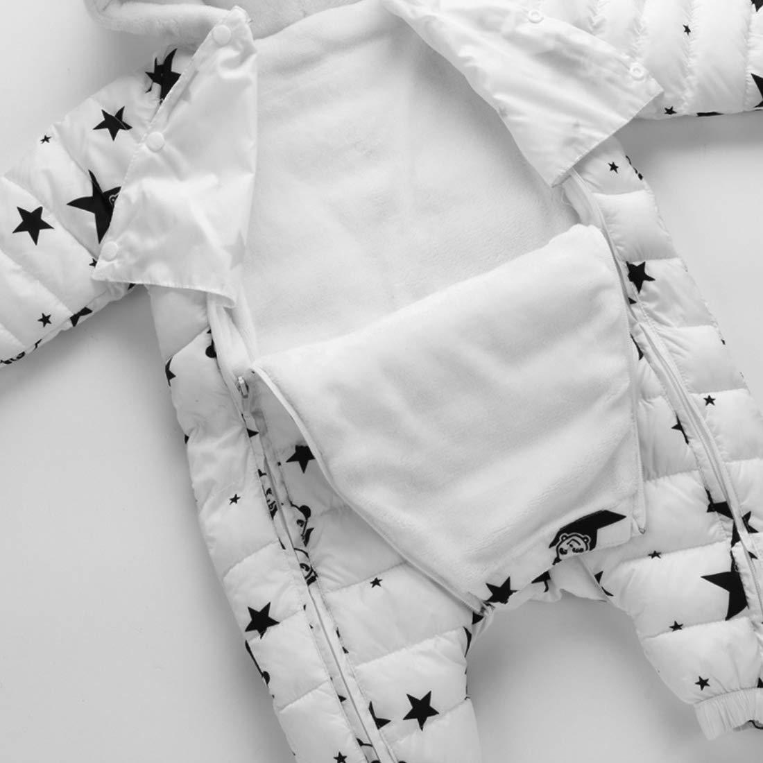 df1ae4c79 MissChild Unisex Baby Snowsuit