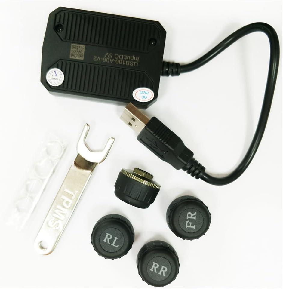 Atoto Ac Utp1 Usb Tpm Reifendruck Überwachung Sensoren System Spezifiziert Für A6 S8 Auto