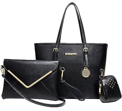 6361ea3d1f Coofit sacs femme en cuir vintage et sac à bandoulière avec bandoulière  messager et petit sac