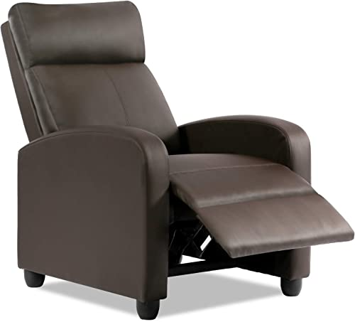 Best living room chair: Vnewone sx102-brown recliner chair
