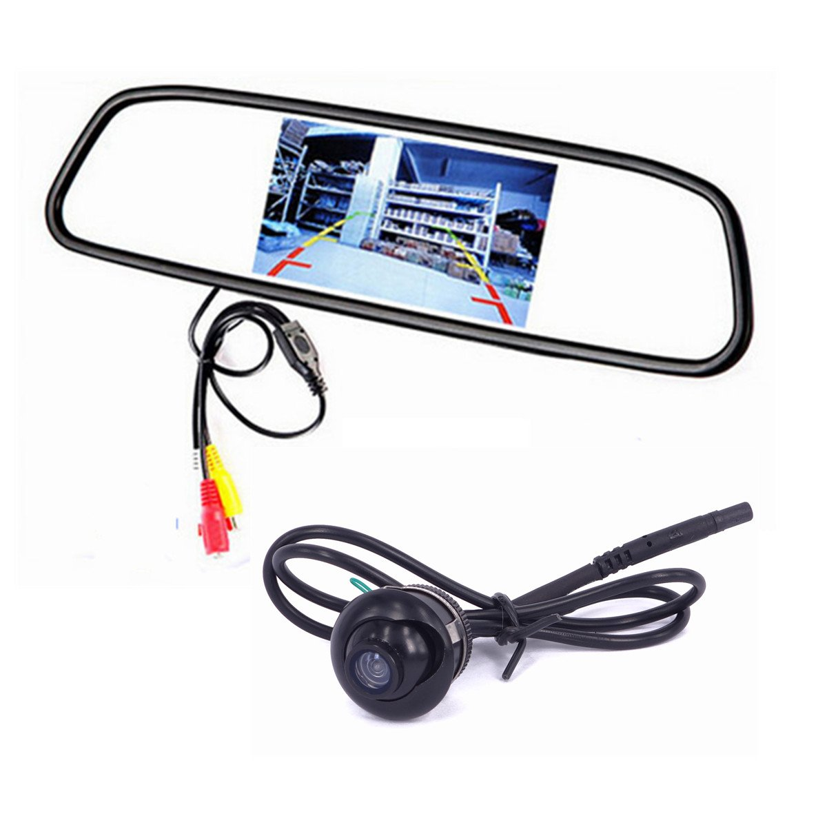 Weivision Universal 360 Degrees Car Rear Front Side View Optional Camera for All Car Weizhen Technology Co. Ltd..