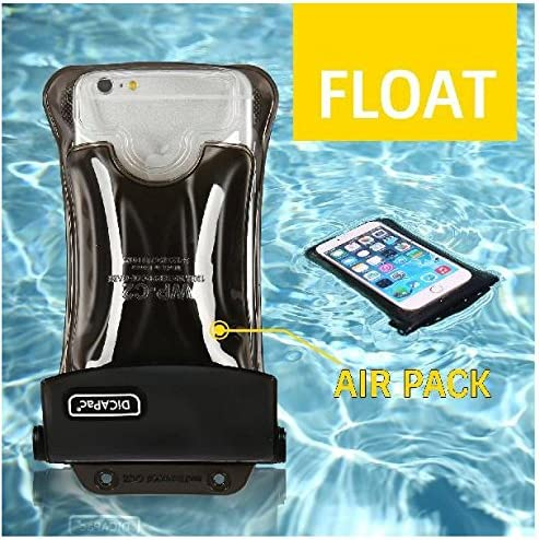 Amazon.com: DiCAPac WP-C1 funda impermeable universal para ...