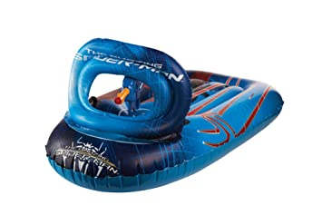 Giochi Preziosi Spiderman Liquidator - Tabla de surf hinchable (61 x 95 cm)