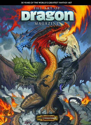 The Art Of Dragon Magazine Hildebrandt Fantasy Art
