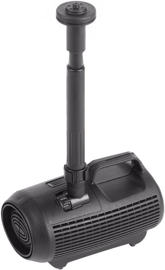 Hozelock Cascade 3000 Low Voltage Waterfall and Fountain Pond Pump