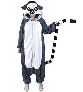 bd7c73440a9a Amazon.com  WOTOGOLD Animal Cosplay Costume Lemur Unisex Adult ...