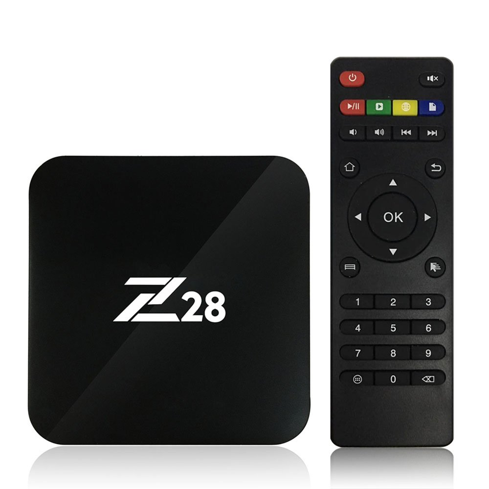 Walmeck Android TV Box Android 7.1 TV Box Mini 2GB/16GB Amlogic S RK3328 Quad Core 64Bit 1G and 8G H.265 UHD 4K VP9 HDR 3D Mini PC WiFi US Plug