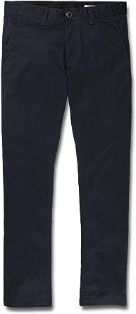 Volcom Frickin Skinny Chino Pantalones Hombre Amazon Es Deportes Y Aire Libre