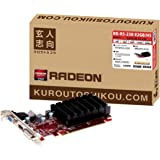 玄人志向 グラフィックボード AMD Radeon R5 230 搭載 2GB ヒートシンク冷却 ロープロファイル対応モデル RD-R5-230-E2GB/HS