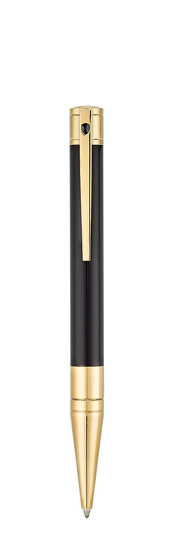 S.T Dupont D-265202 Yellow Gold Finish Ballpoint Pen Black