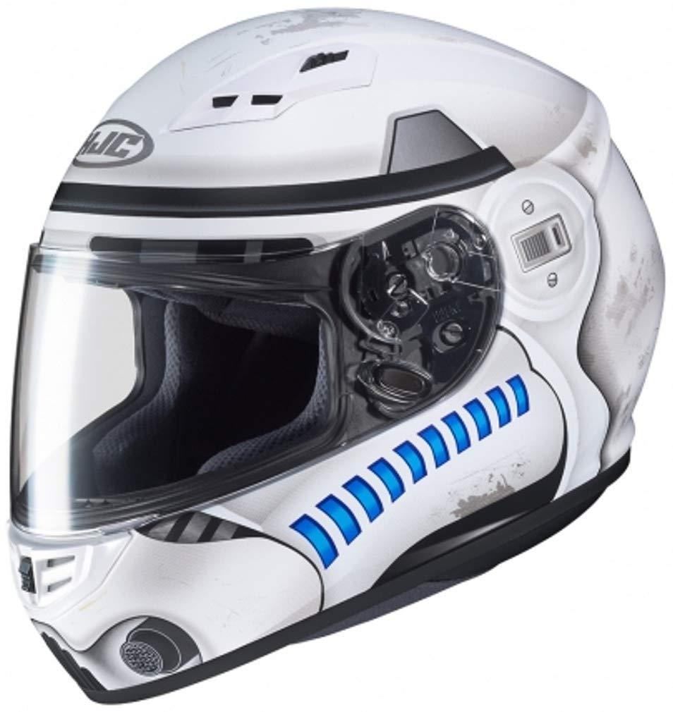 HJC Helmets 102070-mc10sf casco Moto talla L Color blanco//azul