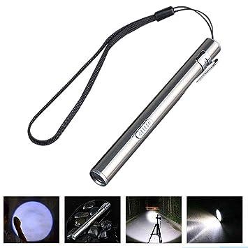 Tragbare USB wiederaufladbare LED Taschenlampen wasserdicht Mini Fackel Lampe