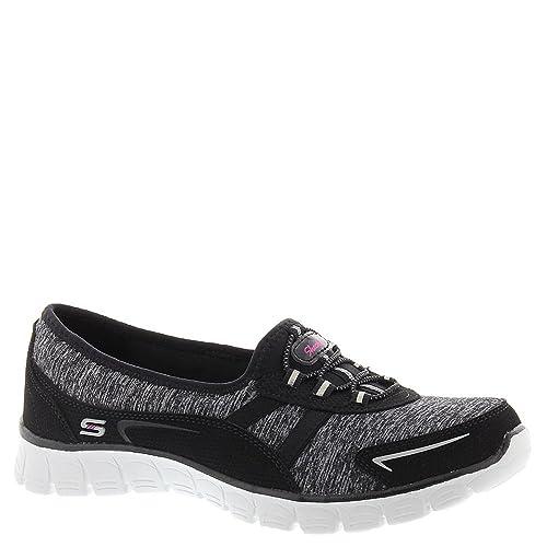Skechers - Mocasines de Material Sintético para Mujer, Color Negro, Talla 40: Skechers: Amazon.es: Zapatos y complementos