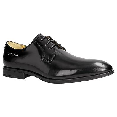 Hamburg- Smuck 250 Herren Business Schuhe Vollleder Derby Schnürschuhe, Schuhgröße:43, Farbe:Cognac ZWEIGUT