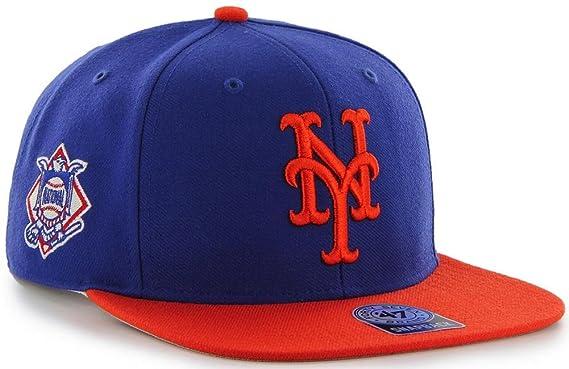 Amazon.com   47 Forty Seven York Mets 2 Tone Blue Orange Snapback ... 0d99c4f18ee