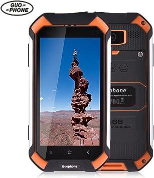 iBaste_Teléfono V19 3G Smartphone 4.5 Pulgadas Android 5.1 IP68 ...