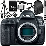 Canon EOS 5D Mark IV DSLR Camera (Body Only) 64GB Bundle 30PC Accessory Kit which Includes 64GB Memory Card + MORE