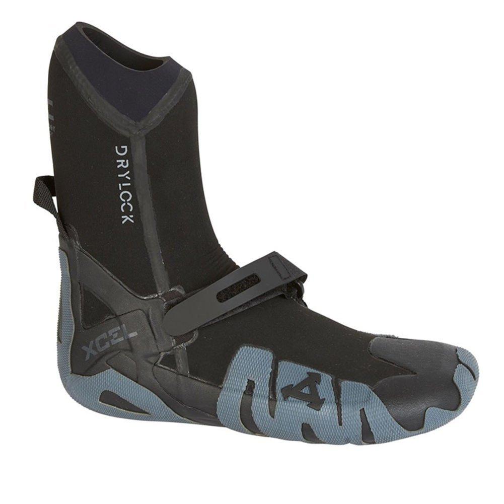 Xcel Fall 2017 Drylock Round Toe Boots, Black/Grey, Size 10/7mm