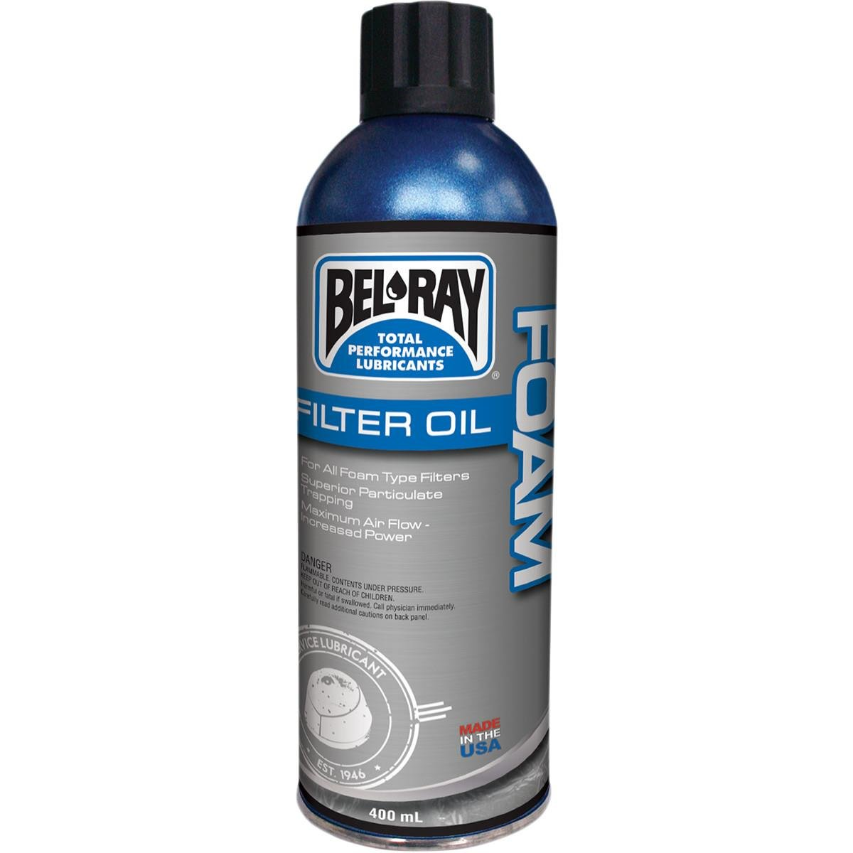 Amazon.com: Aceite Bel-Ray Filtro de espuma), color 400 Ml ...