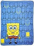 Best Nickelodeon Blankets - Nickelodeon, Spongebob Squarepants, Line up Bob 46-Inch-by-60-Inch Micro-Raschel Review