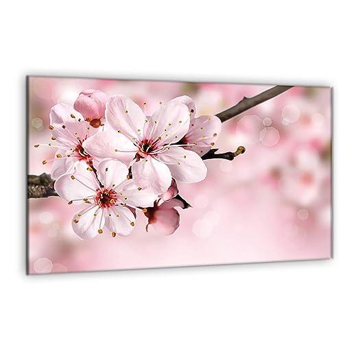 Compra decorwelt | para cubrir la vitrocerámica Flores Rosa ...