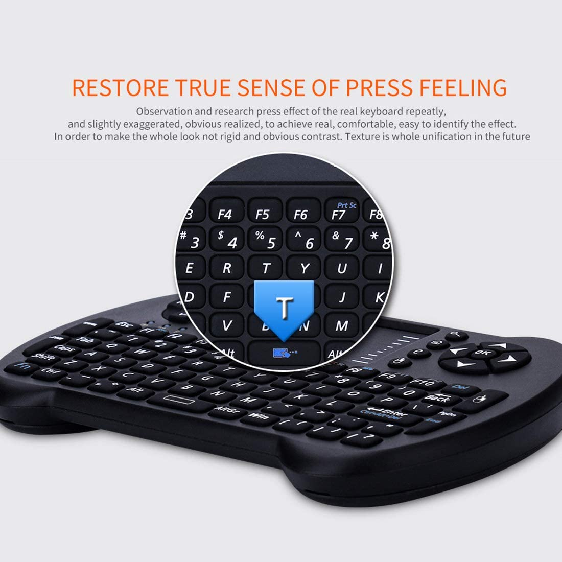 Desktop Computer Color : Black Computer S501 Bluetooth Mini Full QWERTY Keyboard with Touchpad /& Multimedia Control for Laptop Black Convenient and Highly Recommended STB TV