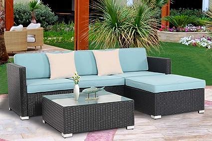 Amazon.com: Oakmant - Juego de sofá de 5 piezas para ...