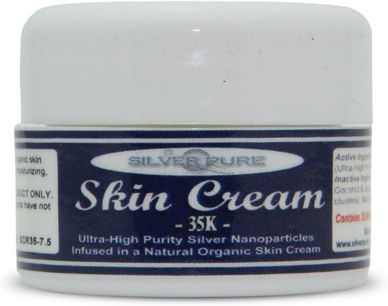 Nano Silver Skin Cream 35,000 ppm - 1/4 Ounce Jar - Our Best
