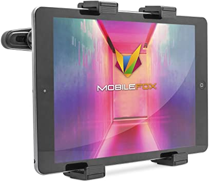 mobilefox/® Support 360/° universel de v/éhicule pour tablette PC Samsung Galaxy Tab 4//3//2//S//A//Note//NotePro//TabPro//Active//Ativ//Ativ Q//Lite 7//7.0//7.7//8.0//8.4//8.9//10.1//10.5//12.2