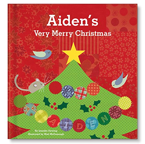 Personalized Unique Keepsake Christmas Book for Baby | Babys First 1st Christmas